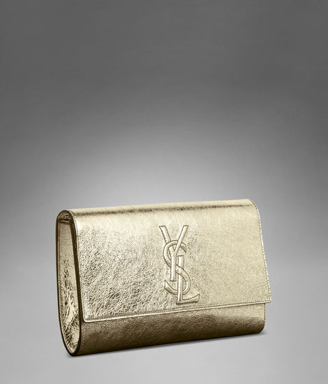 ysl-women-metallic-leather-clutch
