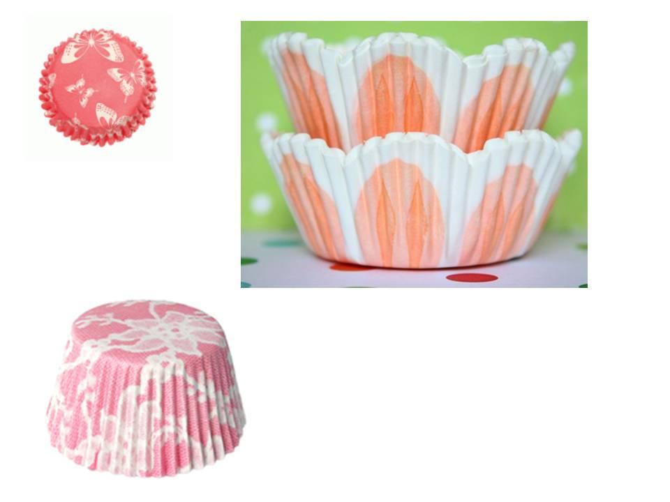 Capsulas de papel de cupcakes