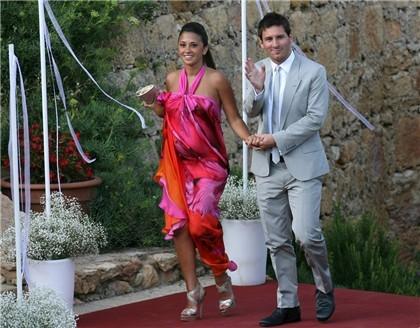 Antonella Roccuzzo boda de Iniesta
